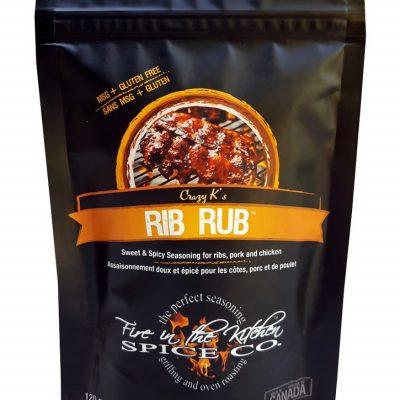 Fire in the Kitchen Rib Rub