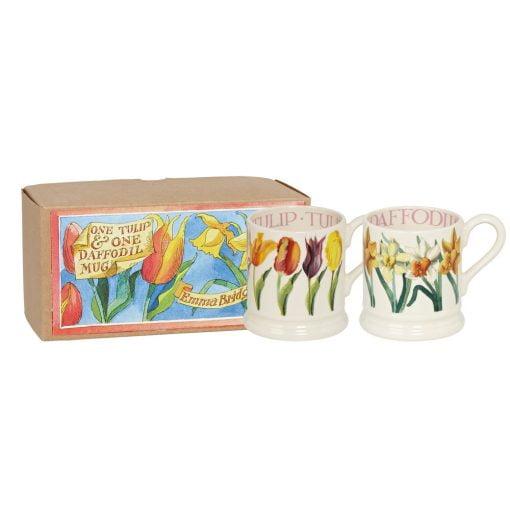 Emma Bridgewater Set of Two Flower Mugs