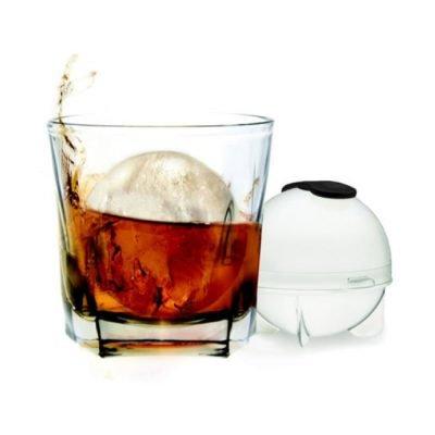 Prepara Whisky Ice Ball Mold and Glass Tumbler Set