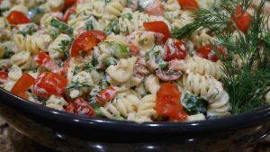 jills garden tuna pasta salad with dill web